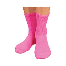 Women's Wide Calf Crew Socks - 3 Pack
