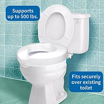 Admirable Bariatric Extra Wide Toilet Seat Supports Up To 1 000 Lbs Ncnpc Chair Design For Home Ncnpcorg