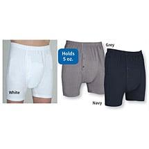 Wearever® Men's Light/Moderate Washable Incontinence Boxer Briefs - Medium