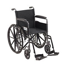 Silver Sport 1 Wheelchair