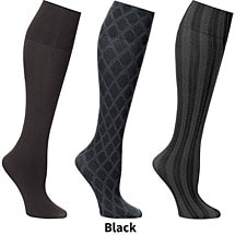 Support Plus™ Womens Wide Trouser Socks Set of 3