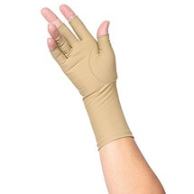 Light Compression Small Open Finger Gloves