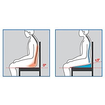 EZE Back Posture Seat Cushion