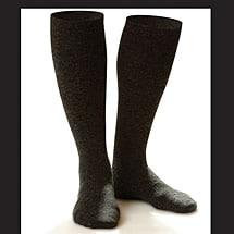 Dr. Comfort® Wool Trouser Socks, Men's Moderate Compression 15-20 mmHg.