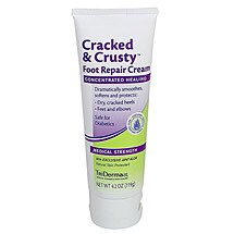 TriDerma™ Cracked and Crusty Foot Repair Cream 4.2oz.