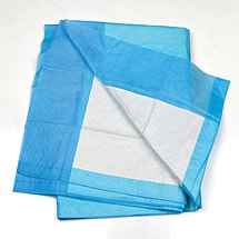 Moderate Absorbency Underpads - 3 Bags/50 Each for a Case of 150