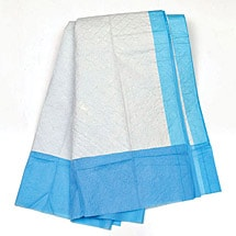 Light Absorbency Underpads - 3 Bags/50 Each for a Case of 150