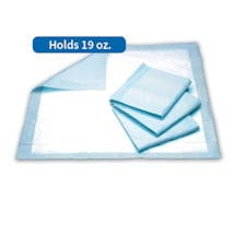 Heavy Absorbency Underpad - Holds 19 oz, pack of 30