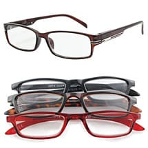 Men's Readers - Set of 4 Neutral 4.0
