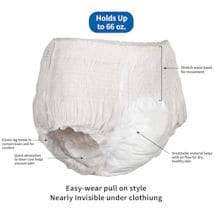 Attends® Overnight Ultra Absorbency Pull-On Underwear