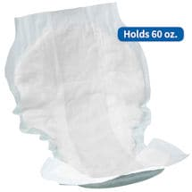 Attends® Plus Shaped Pads (24 count)