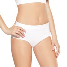 Rhonda Shear® Full Coverage Seamless Briefs - 3 Pack
