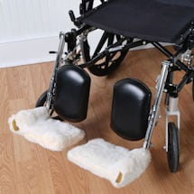Sherpa Wheelchair Footrest Covers