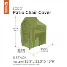 Stackable Chair Cover- Sodo