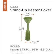 Patio Heater Cover- Sodo