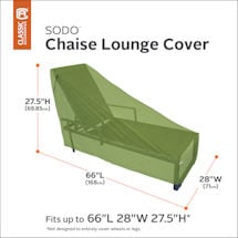 Chaise Lounge Cover- Sodo
