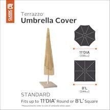 Patio Umbrella Cover- Terrazzo