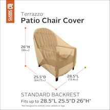 Set of 4 Standard Patio Chair Covers
