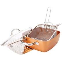 5 pc. Copper Pan Set