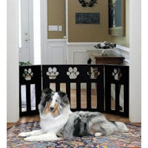 Wood Paw Pet Gate