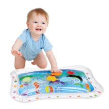 Inflatable Baby Water Mat with 5 Toys