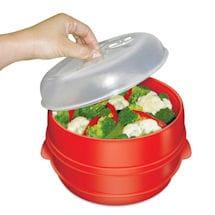 Handy Gourmet® 2-Tier Microwave Steamer