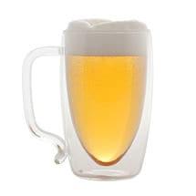 Double Wall Beer Mug