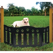 Wooden Paws and Boned Pet Gate