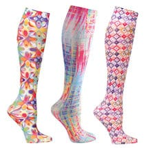 Mild Comp Wide Calf Colorful 3 pair bundle