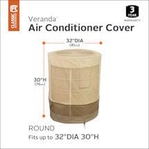 Round AC Cover - Veranda