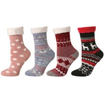 Cabin and Lounge Socks set of 4