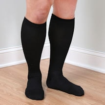 Support Plus® Mens Opaque Moderate Compression Knee High Socks
