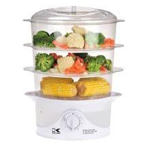 Kalorik® 3-tier Food Steamer