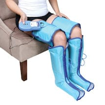 Air Compression Leg & Foot Massager Boots - Pain Relief and Circulation Aid