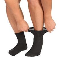 Unisex Diabetic Health Ankle Length Socks - 3 Pack