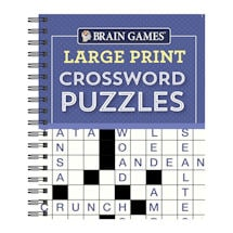 Brain Games Large Print Puzzle Books