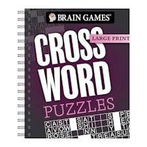 Brain Games™ Large Print Puzzle Books