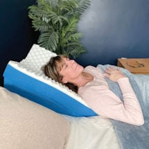 Dual Position Bed Wedge and Cover Kit