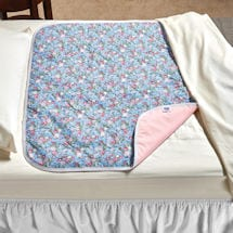 """Deluxe Floral Bed Pads - 34"""" x 36"""""""