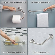 "Moen® 24"" Towel Holder Grab Bar"