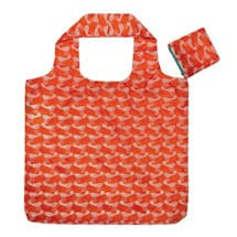Go-Blue Reusable Bags Pink/Orange Set
