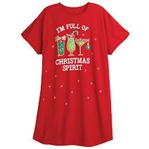 Christmas Spirit, Tis The Season Sleepshirts