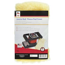 Jeanie Rub Massager Fleece Pad Cover