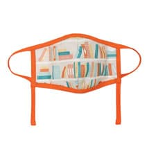 Literary Face Masks - Bookshelf