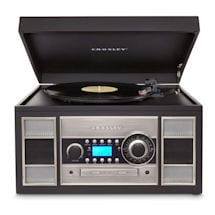 Crosley Radio Memory II CD Recorder - Black