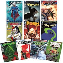 10 pack DC Comic Book Bundle