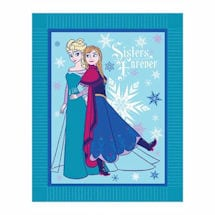 Frozen Elsa And Anna No-Sew Fleece Kit