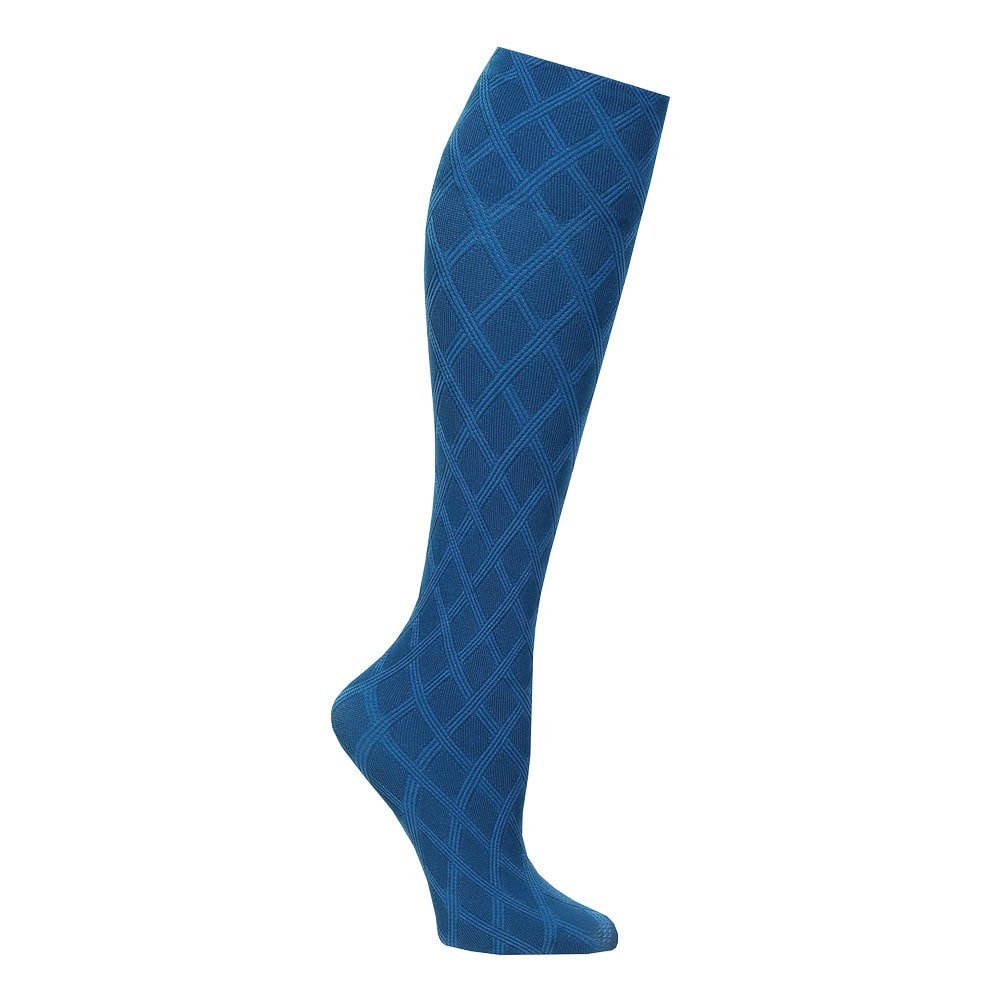 Wide Calf Solid And Patterned Trouser Socks Set Of 3 | EBay