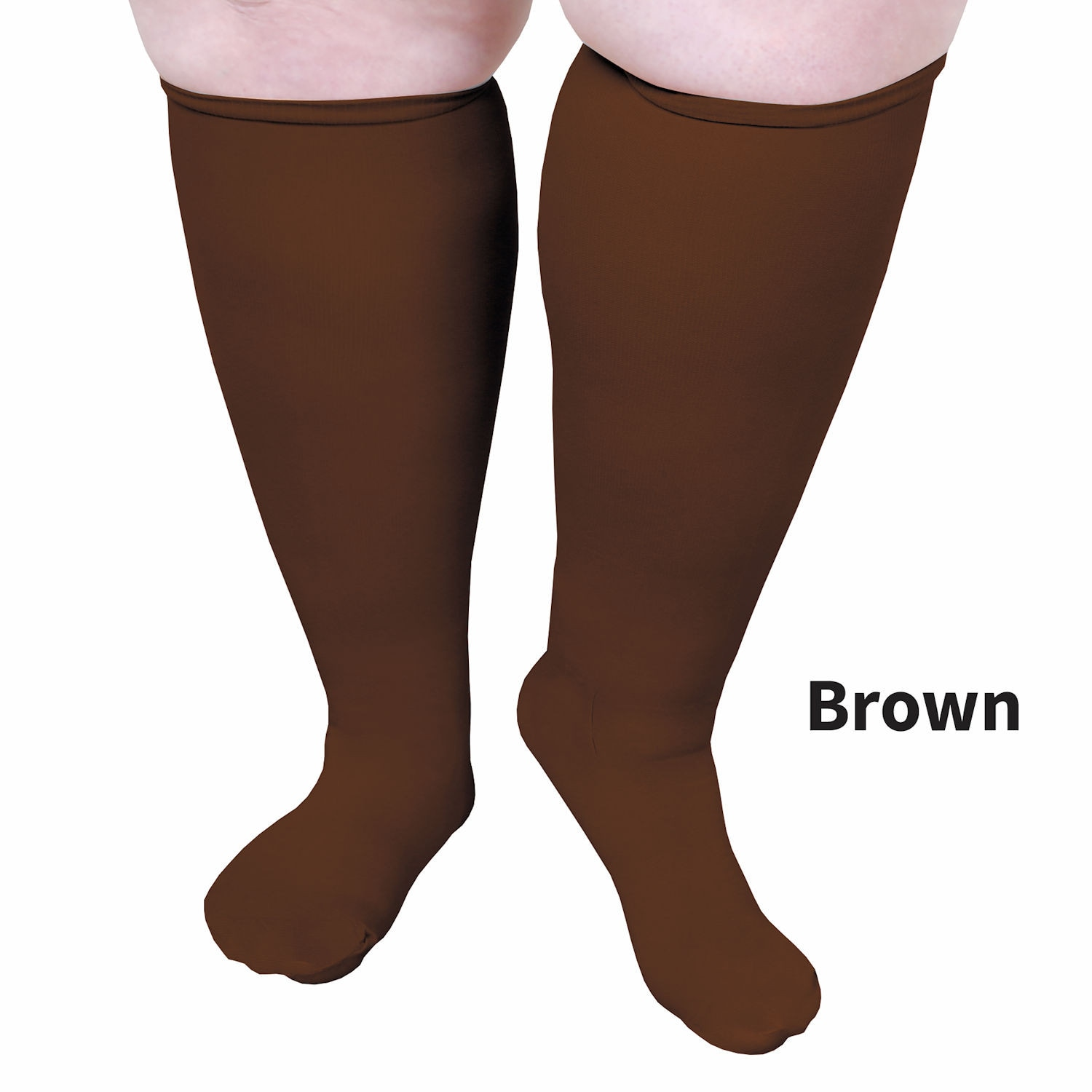 Unisex-Extra-Wide-Moderate-Compression-Knee-High-Socks-Up-to-XW-4E-amp-26-034-Calf thumbnail 10
