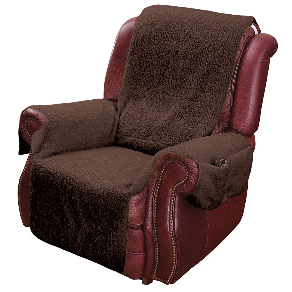 Recliner Chair Cover Protector with Pockets for Remotes  : FG2402BR from www.ebay.com size 1001 x 1001 jpeg 242kB